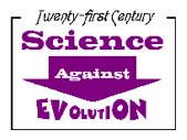 Science Against Evolution logo